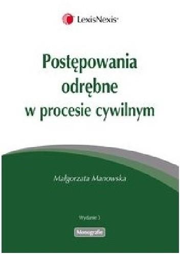 Okładka książki Postępowania odrębne w procesie cywilnym