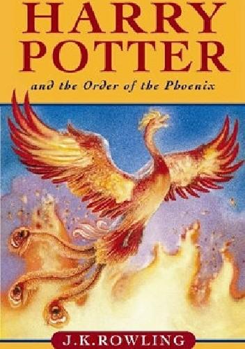 Okładka książki Harry Potter and the Order of the Phoenix