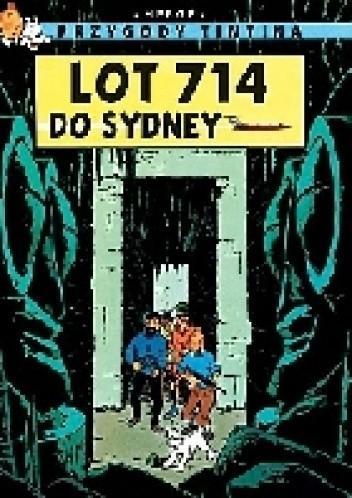 Okładka książki lot 714 do Sydney