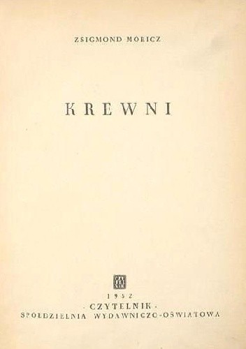 Okładka książki Krewni