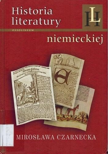 Okładka książki Historia literatury niemieckiej. Zarys.