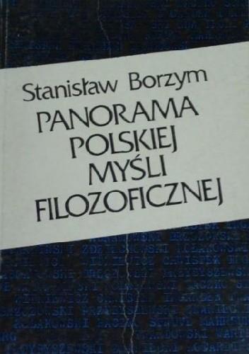 Okładka książki Panorama polskiej myśli filozoficznej