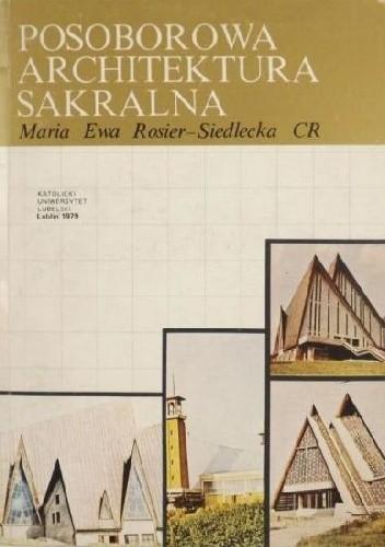 Okładka książki Posoborowa architektura sakralna