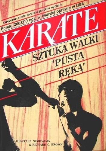 "Okładka książki Karate - sztuka walki ""pustą ręką"""