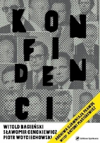 Okładka książki Konfidenci