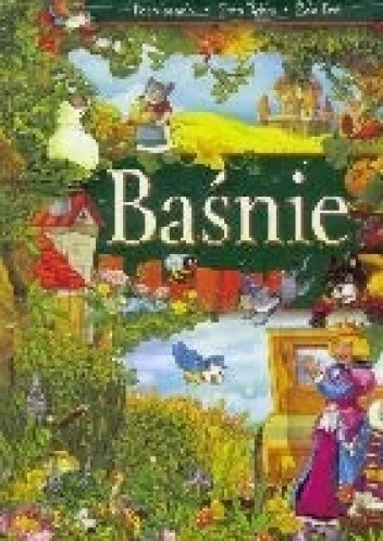 Okładka książki Baśnie - Kot w butach, Złota rybka, Żabi Król