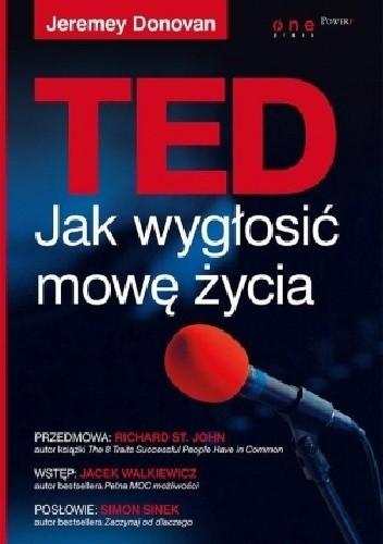 Okładka książki TED. Jak wygłosić mowę życia
