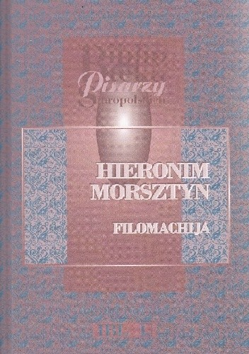 Okładka książki Filomachija