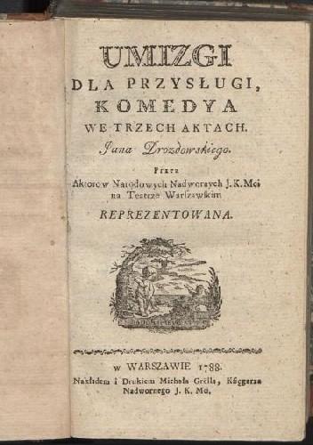 Okładka książki Umizgi dla przysługi