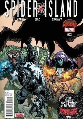 Okładka książki Spider-Island #3 - Part Three: Goblin Knight in Shining Armor/The Enemy Within!