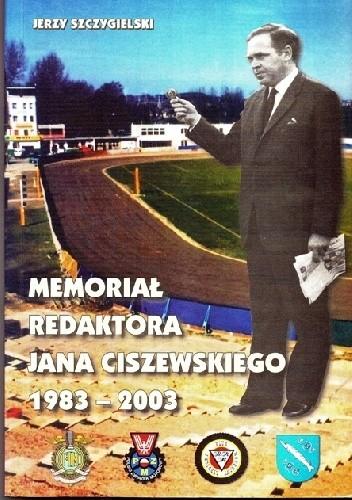 Okładka książki Memoriał Redaktora Jana Ciszewskiego