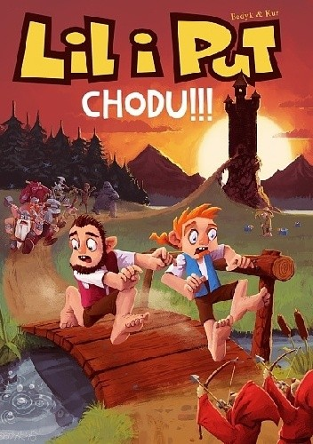 Okładka książki Lil i Put. Chodu!!!