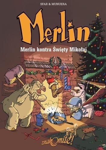 Okładka książki Merlin 2: Merlin kontra Święty Mikołaj