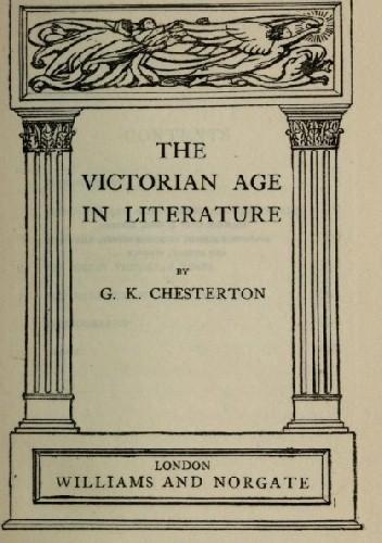 Okładka książki The Victorian Age in Literature