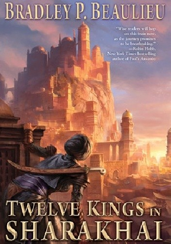 Okładka książki Twelve Kings in Sharakhai