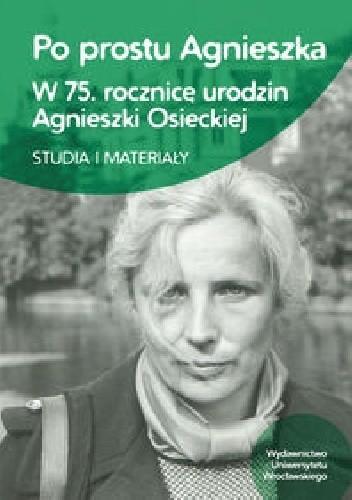 Okładka książki Po prostu Agnieszka
