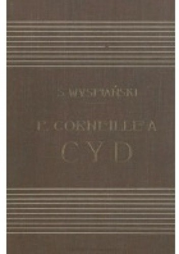 Okładka książki Corneille'a Cyd