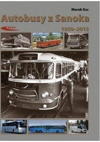 Okładka książki Autobusy z Sanoka