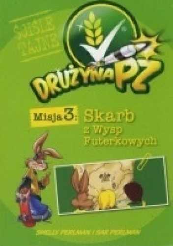 Okładka książki Drużyna PZ. Skarb z Wysp Futerkowych