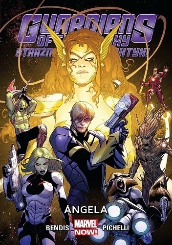 Okładka książki Guardians of the Galaxy (Strażnicy Galaktyki): Angela