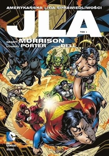 Okładka książki JLA - Amerykańska Liga Sprawiedliwości: Tom 1