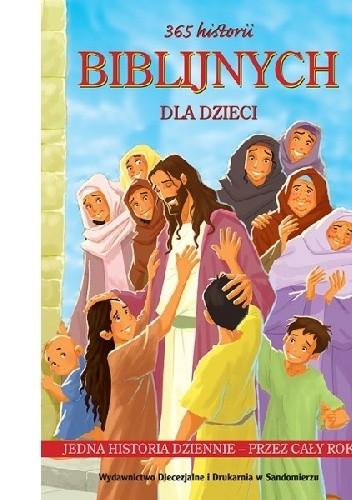 Okładka książki 365 historii biblijnych dla dzieci