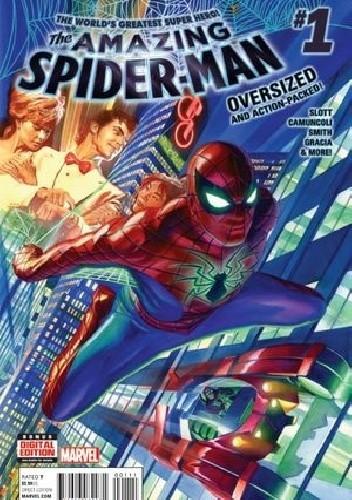Okładka książki Amazing Spider-Man Vol 4 #1 - Worldwide