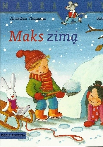 Okładka książki Maks zimą