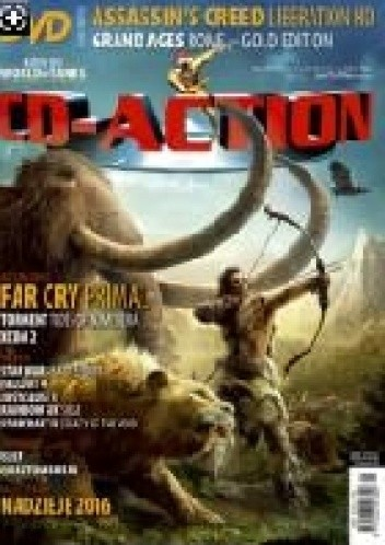 Okładka książki CD-Action 01/2016