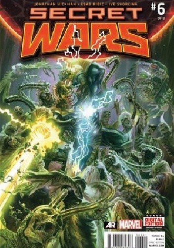 Okładka książki Secret Wars #6 - We Raise Them Up... Just So We Can Pull Them Down