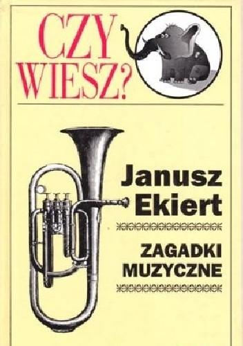 Okładka książki Zagadki muzyczne