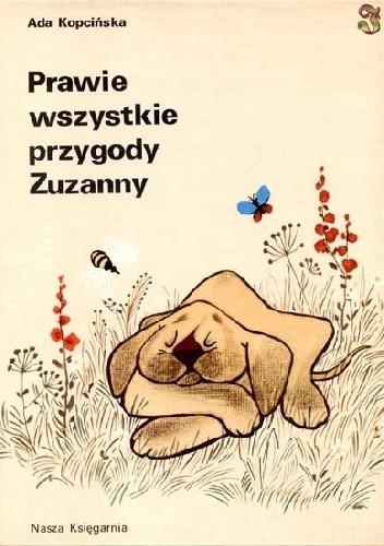 Okładka książki Prawie wszystkie przygody Zuzanny