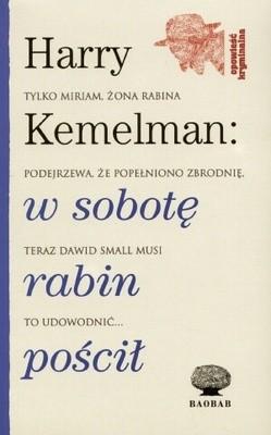 Okładka książki W sobotę rabin pościł