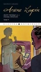Okładka książki Arsene Lupin. Złoty trójkąt cz.1