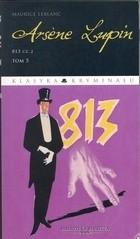 Okładka książki Arsene Lupin. 813 cz.2