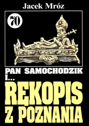 Okładka książki Pan Samochodzik i rękopis z Poznania
