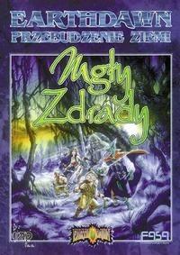 Okładka książki Earthdawn. Mgły zdrady
