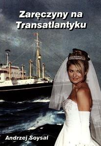 Okładka książki zaręczyny na Transatlantyku