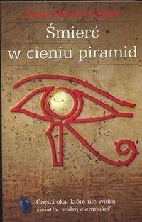 Okładka książki śmierć w cieniu piramid