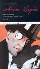Okładka książki Arsene Lupin, dżentelmen włamywacz