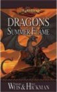 Okładka książki Dragons of Summer Flame