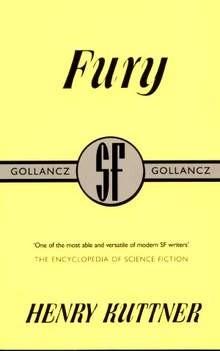 Okładka książki Fury