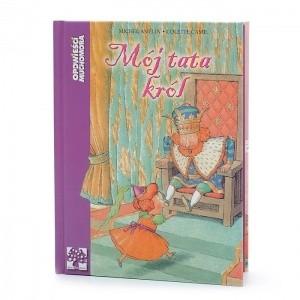 Okładka książki Mój tata król