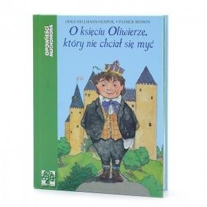 Okładka książki O księciu Oliwierze, który nie chciał się myć