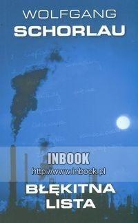 Okładka książki Błękitna lista. Pierwsza sprawa Denglera,