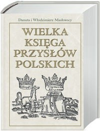 Okładka książki Wielka księga przysłów polskich