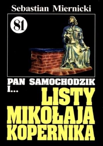 Okładka książki Pan Samochodzik i listy Mikołaja Kopernika
