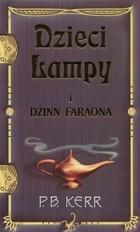 Okładka książki Dzieci lampy i Dżinn Faraona