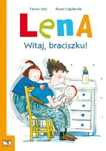 Okładka książki Lena-Witaj, braciszku!