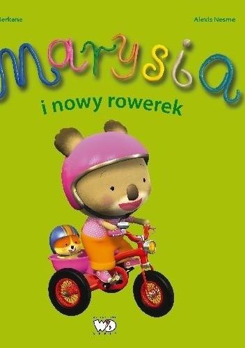 Okładka książki Marysia i nowy rowerek